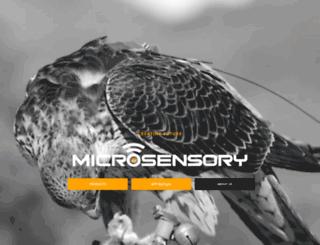microsensory.com screenshot