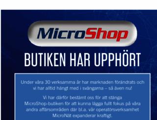 microshop.se screenshot