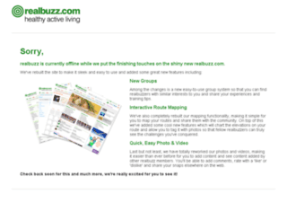 microsites.realbuzz.com screenshot