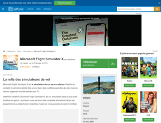microsoft-flight.softonic.fr screenshot
