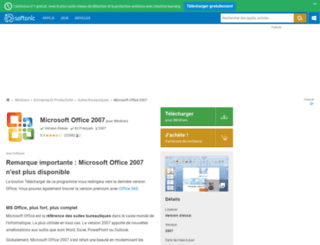 microsoft-office-2007.softonic.fr screenshot