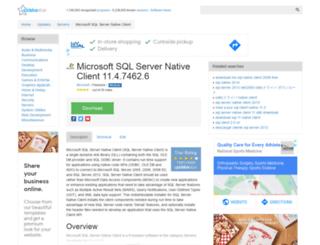 microsoft-sql-server-native-client.updatestar.com screenshot