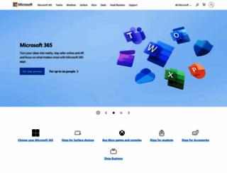 microsoft.co.uk screenshot