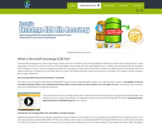 microsoft.enstellaedbrecovery.com screenshot