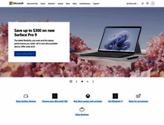 microsoftfeed.com screenshot