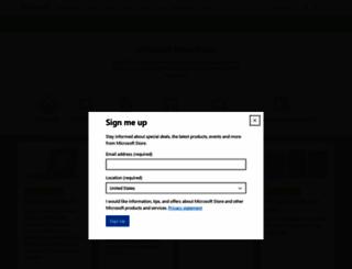 microsoftstore.com screenshot