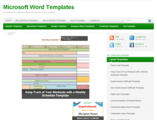 microsoftwordtemplates.net screenshot