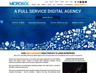 microsol.biz screenshot