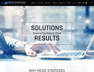 microstrat.com screenshot