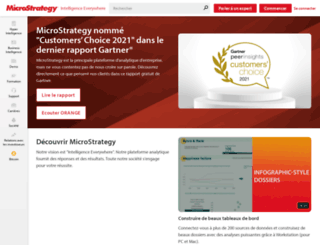 microstrategy.fr screenshot