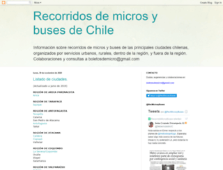 microsybusesdechile.blogspot.cl screenshot