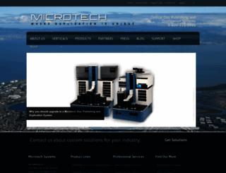 microtech.com screenshot