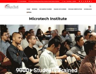 microtech.institute screenshot