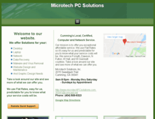 microtechpcsolutions.com screenshot