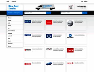 microtonersupplies.com.au screenshot
