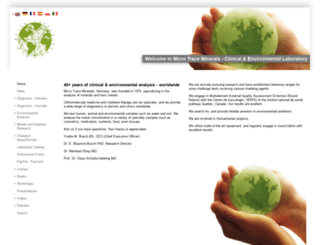 microtrace.fr screenshot