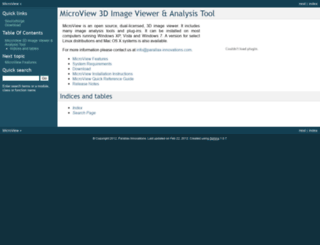 microview.sourceforge.net screenshot