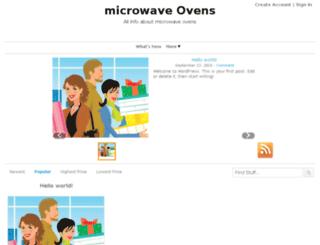 microwaveovenprice.com screenshot