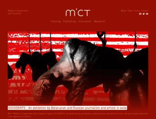 mict-international.org screenshot