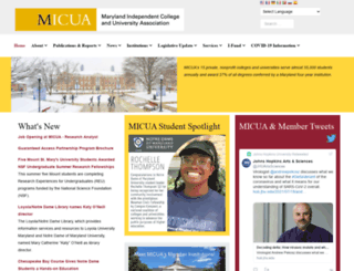 micua.org screenshot