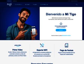 micuenta.tigo.cr screenshot