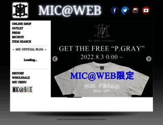 micweb.jp screenshot