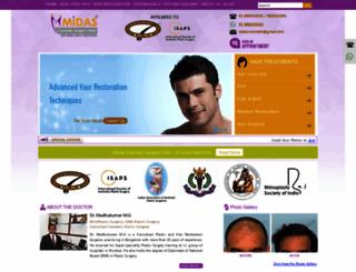 midashairclinic.com screenshot