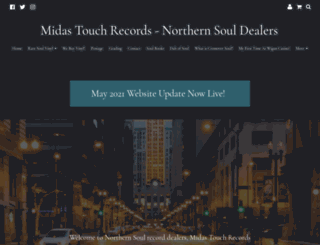 midastouchsoul.co.uk screenshot
