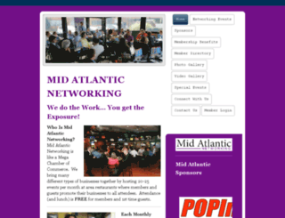midatlanticnetworkingmd.memberzone.com screenshot