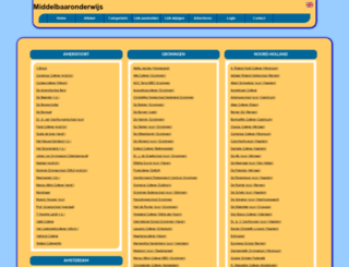 middelbaaronderwijs.allepaginas.nl screenshot