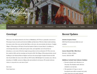 middleburyny.com screenshot