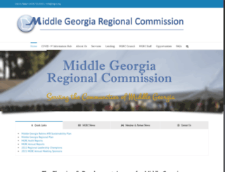 middlegeorgiarc.org screenshot