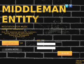 middlemanentity.com screenshot