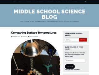 middleschoolscience.com screenshot