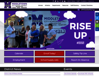 middletowncityschools.com screenshot