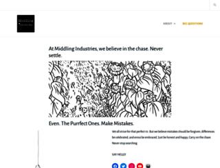 middlingindustries.com screenshot