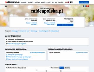 mideapolska.pl screenshot