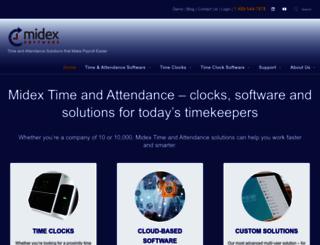 midextimeandattendance.com screenshot