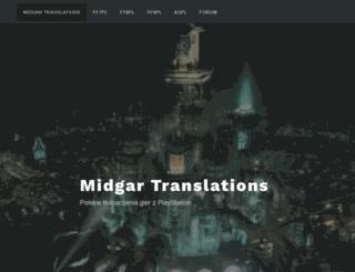 midgar.psemu.pl screenshot