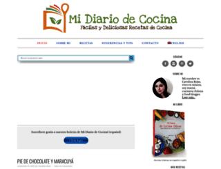 midiariodecocina.com screenshot