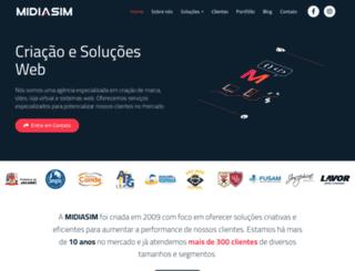 midiasim.com.br screenshot
