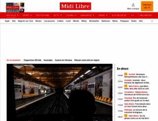 midilibre.com screenshot