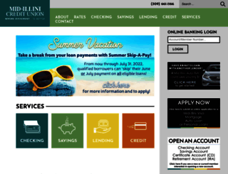 midillinicu.com screenshot