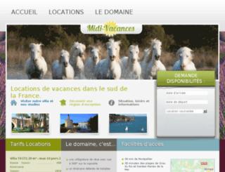 midivacances.fr screenshot