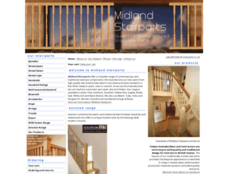 midland-stairparts.co.uk screenshot