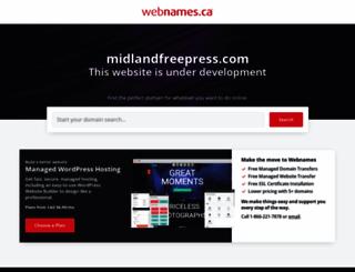 midlandfreepress.com screenshot