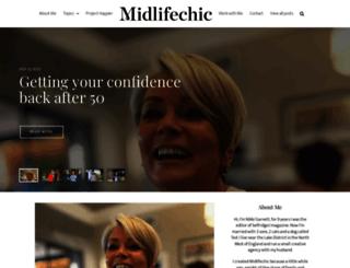 midlifechic.com screenshot