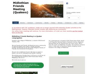 midlothianfriends.org screenshot