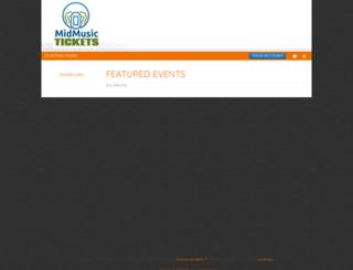 midmusictickets.showare.com screenshot