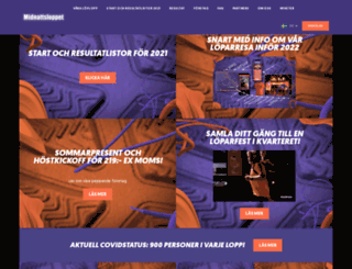midnattsloppet.com screenshot